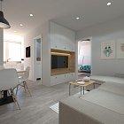 Na prenájom luxusný  3 izbový bytík s dvoma loggiami a 2 samostatnými spálňami na Jantárovej ulici